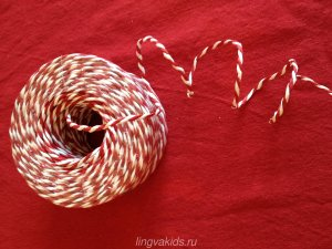 тесьма для украшения подарков
