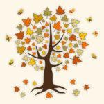 Осенние материалы для занятий английским с детьми