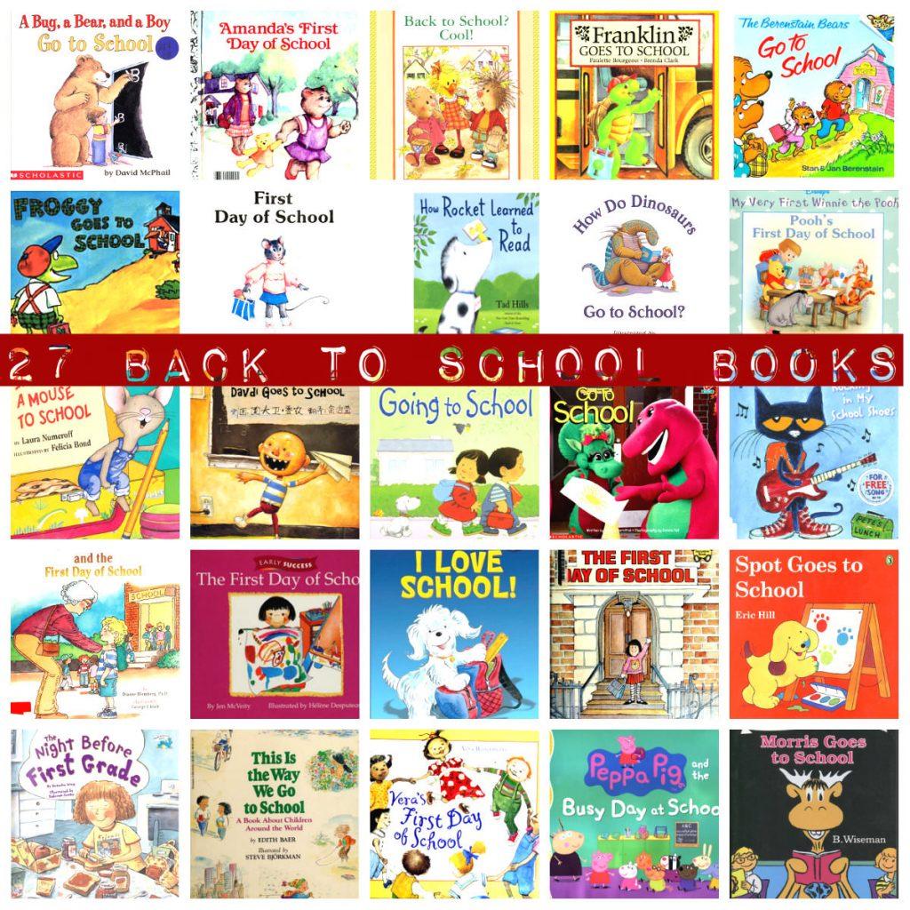 детские книги про школу на английском