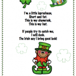 I'm a little leprechaun — Song with Actions and Video and Activities