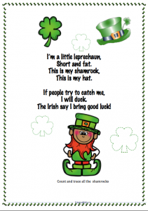 I'm a little leprechaun - song