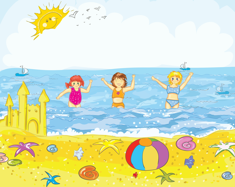 Рисунок на тему лето в детский сад