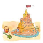Летняя песенка про песочный замок