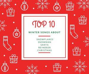 TOP 10 winter songs