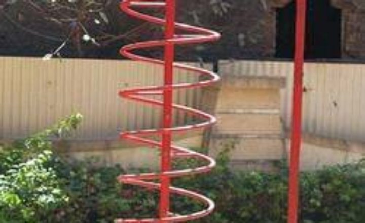 spiral ladder