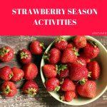 Клубничное занятие для детей на английском Strawberry Season Activities