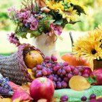 Праздничный ужин на День Благодарения.