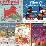 Детские книги о Рождестве на английском по уровням Christmas books